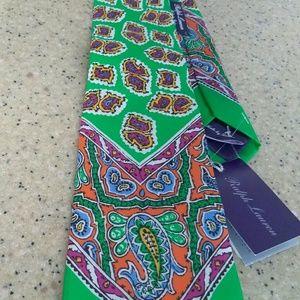 New with Tag Ralph Lauren Purple Label Necktie